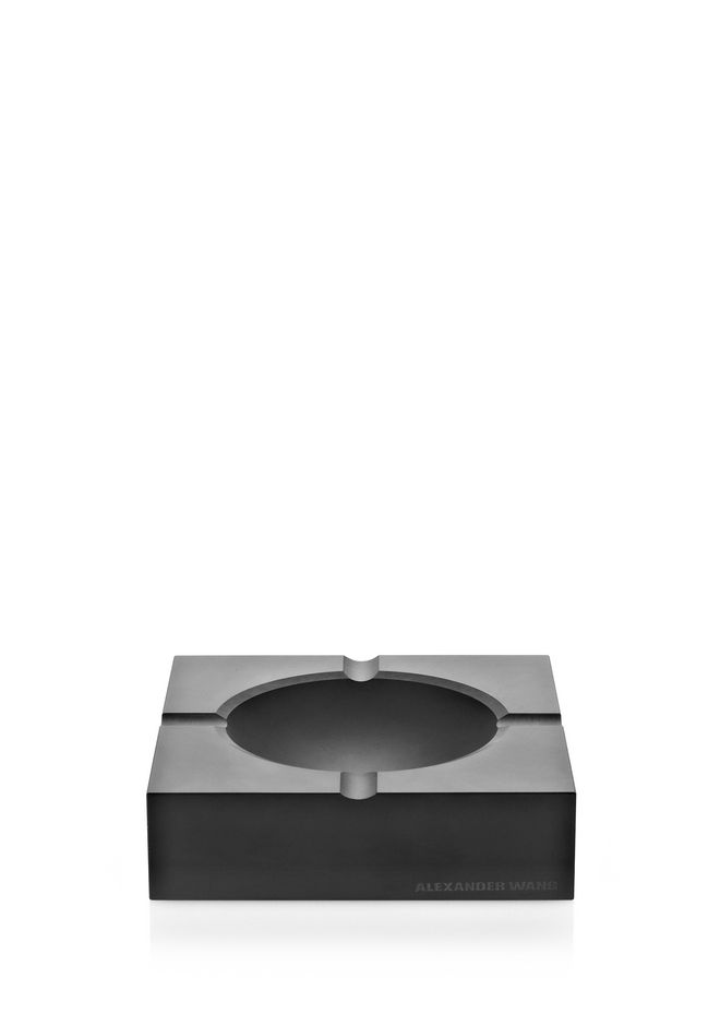 ALEXANDER WANG MATTE BLACK ASHTRAY ASHTRAY Adult 12_n_f