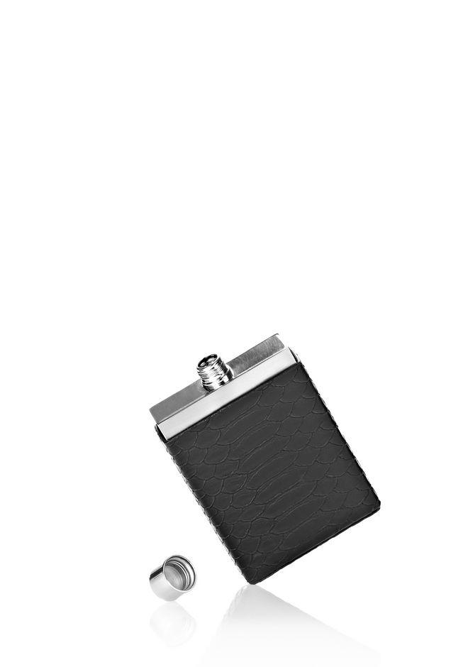 ALEXANDER WANG FLASK WITH EMBOSSED CASE HIP FLASK Adult 12_n_e