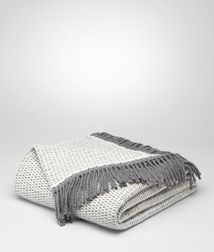 Pillow and blanketLiving100% CashmereGrey Bottega Veneta