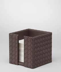 Desk accessoryLivingNappa leatherBrown Bottega Veneta