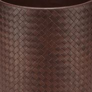 Intrecciato Nappa Waste Paper Basket - Desk accessory - BOTTEGA VENETA - PE13 - 980