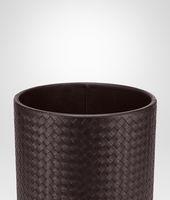 Ebano Intrecciato Nappa Waste Paper Basket