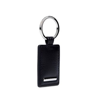 ERMENEGILDO ZEGNA: Key ring Black - 51118517NT