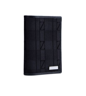 ZZEGNA: Credit Card Holder Black - 51118519TN