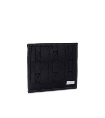 ZZEGNA: Credit Card Holder Black - 51118523IR