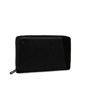 ZZEGNA: Clutch Black - Blue - 51118565UF