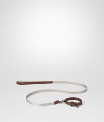BOTTEGA VENETA - Living, Ebano Intreccio Scolpito Dog Leash