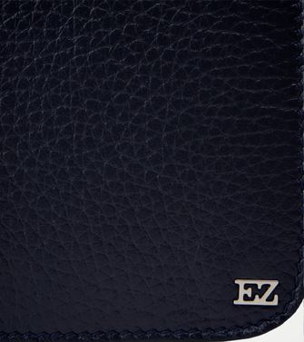ERMENEGILDO ZEGNA: Leather cases & covers Slate blue - 51118613DQ