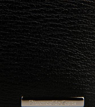 ERMENEGILDO ZEGNA: Business Card Holder Blue - 51118615MQ