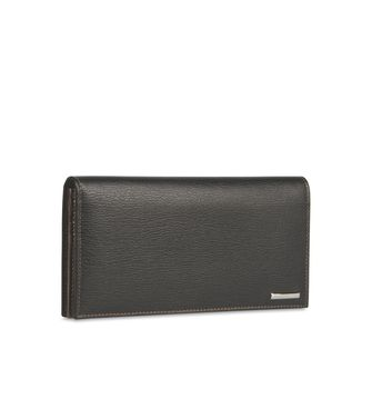 ERMENEGILDO ZEGNA: Wallets Black - Blue - 51118617XG