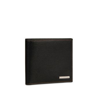 ERMENEGILDO ZEGNA: Wallet Dark brown - 51118618NB