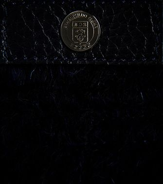 ERMENEGILDO ZEGNA: Clutch Blue - 51118620PH