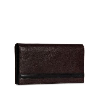 ERMENEGILDO ZEGNA: Wallet Dark brown - 51118621TM