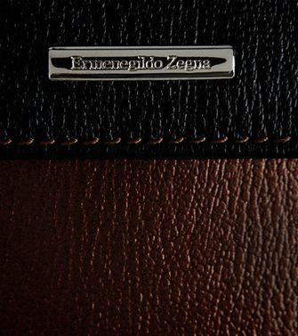ERMENEGILDO ZEGNA: Digital Case Marron - 51118622TW
