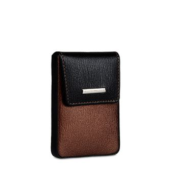 ERMENEGILDO ZEGNA: Digital case Dark brown - 51118622TW