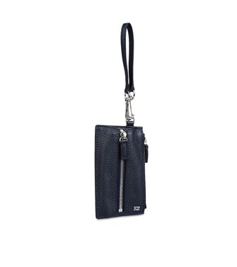 ERMENEGILDO ZEGNA: Key ring Blue - 51118625VL