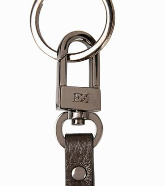 ERMENEGILDO ZEGNA: Key holders Dark brown - 51118627HN