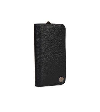 ERMENEGILDO ZEGNA: Leather cases & covers Steel grey - 51118628NF