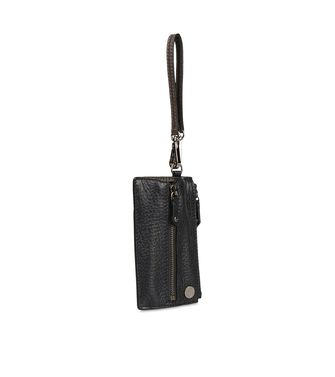 ERMENEGILDO ZEGNA: Key ring Black - Blue - 51118630WT