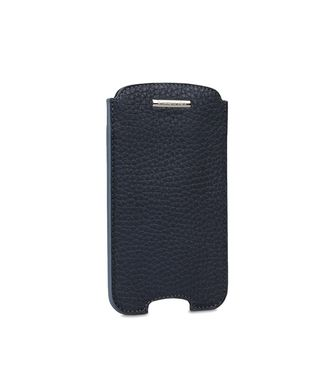 ERMENEGILDO ZEGNA: Digital case Dark brown - 51118637NR