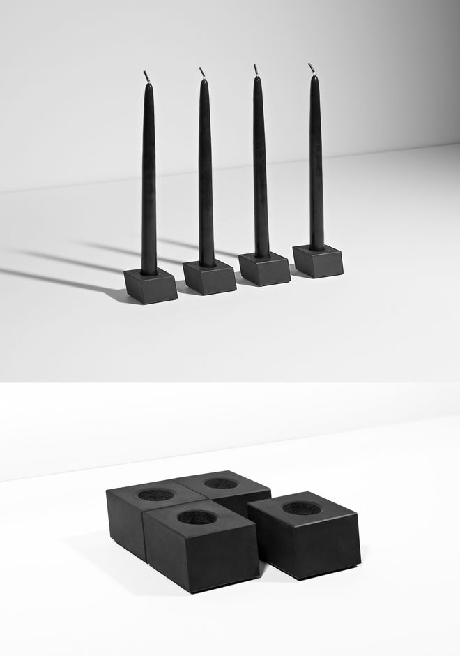 ALEXANDER WANG CANDLE HOLDER SET CANDLE HOLDERS Adult 12_n_d