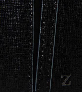 ZZEGNA: Wallets Slate blue - 51118666KW