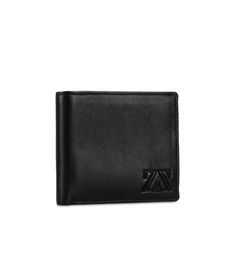 ZEGNA SPORT: Wallet Black - Blue - 51118670HD