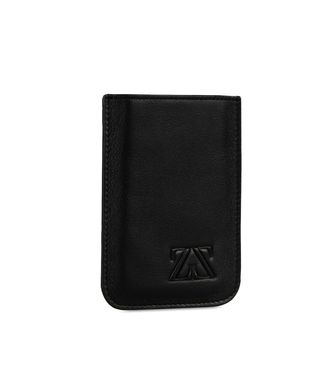 ZEGNA SPORT: Leather cases & covers Black - Blue - 51118671SF