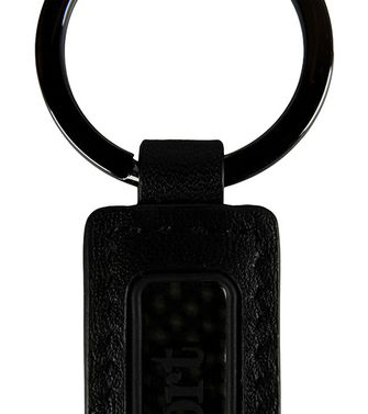 ZEGNA SPORT: Key ring Dark brown - 51118675GI