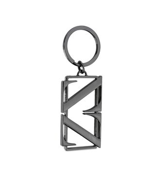 ZEGNA SPORT: Key ring Steel grey - 51118676RL