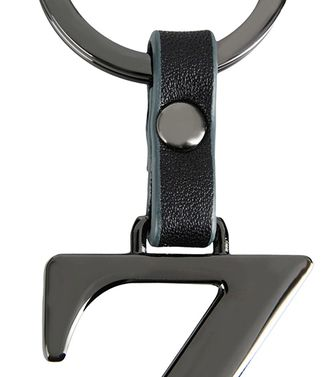 ZZEGNA: Key ring Black - 51118678WC