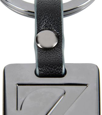 ZZEGNA: Key ring Steel grey - 51118679FP