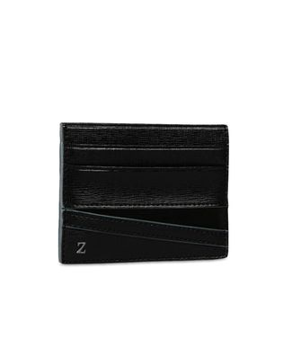 ZZEGNA: Credit Card Holder Black - 51118681JR