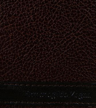 ERMENEGILDO ZEGNA: Credit Card Holder Dark brown - 51118735HH