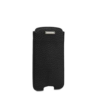 ERMENEGILDO ZEGNA: Digital case Dark brown - 51118914GT