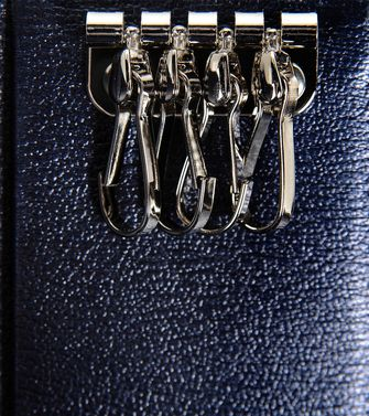 ERMENEGILDO ZEGNA: Key ring Black - 51118926WV
