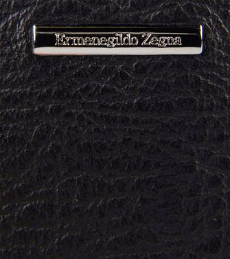 ERMENEGILDO ZEGNA: Digital case Black - 51118942AD
