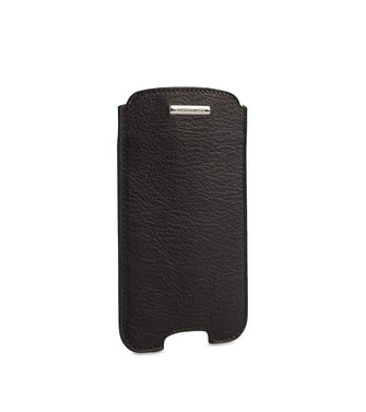 ERMENEGILDO ZEGNA: Digital case Dark brown - 51118942AD