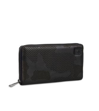 ZEGNA SPORT: Wallet Black - Blue - 51118949CP
