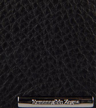 ERMENEGILDO ZEGNA: Digital case Black - 51118951NQ