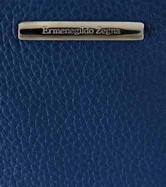 ERMENEGILDO ZEGNA: Clutch Blue - 51118973AT