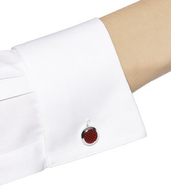ERMENEGILDO ZEGNA: Cufflinks Maroon - 51120899FC
