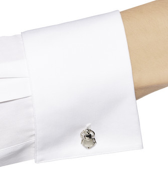 ERMENEGILDO ZEGNA: Cufflinks Silver - 51120905XA