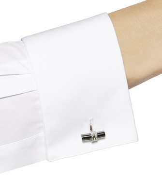 ERMENEGILDO ZEGNA: Cufflinks Silver - 51120906CL