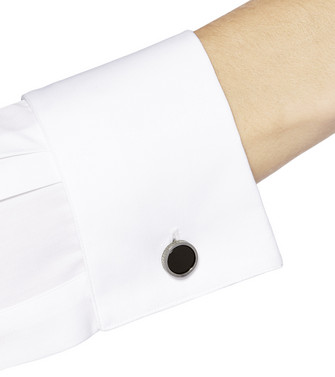 ERMENEGILDO ZEGNA: Cufflinks Black - 51120911KH
