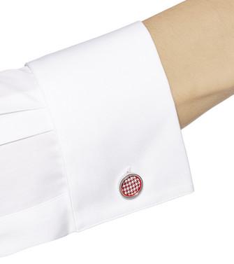 ERMENEGILDO ZEGNA: Cufflinks Red - 51120912PX