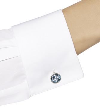 ERMENEGILDO ZEGNA: Cufflinks Blue - 51120914QF