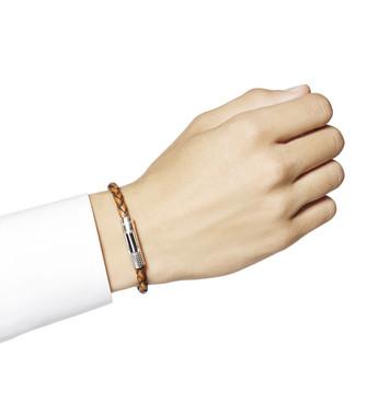 ERMENEGILDO ZEGNA: Bracelet Marron - 51120915CK