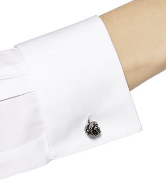 ERMENEGILDO ZEGNA: Cufflinks Silver - 51120916JR