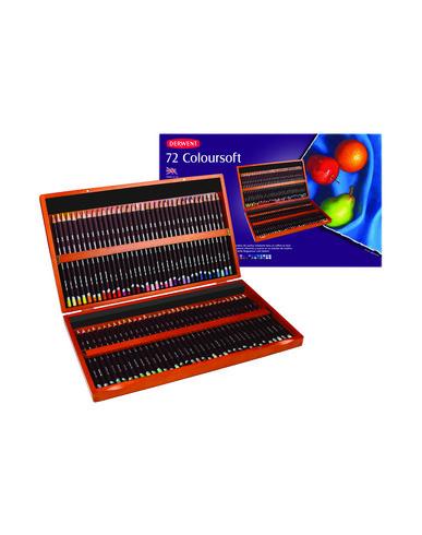 DERWENT 72 Coloursoft pencils Idée cadeau mixte